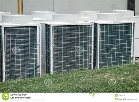 capacitor outdoor ac unit air conditioner unit stock photo image 30922020
