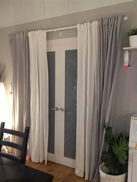 door curtains ideas 25 best ideas about sliding door curtains on pinterest