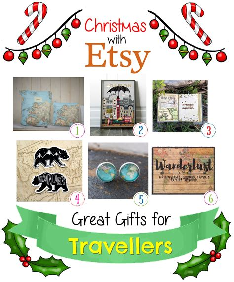 etsy christmas gifts for travel lovers shinycreations