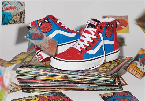 vans  marvel assemble  epic superhero sneaker
