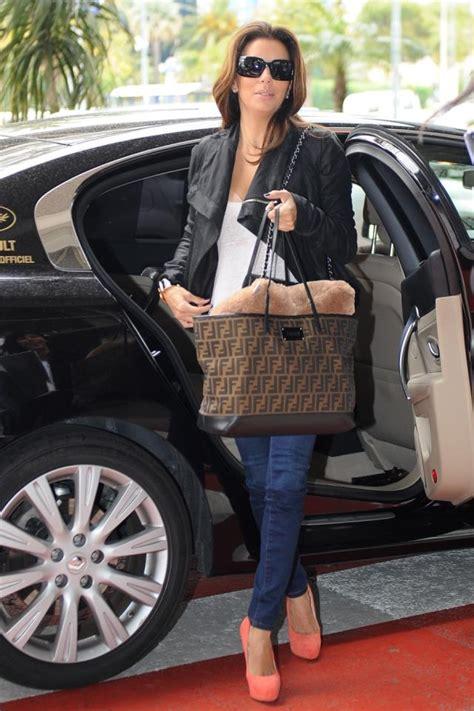 Evas Fashionable And Charitable Bag by Fendi Roll Bag Longoria And Fashion