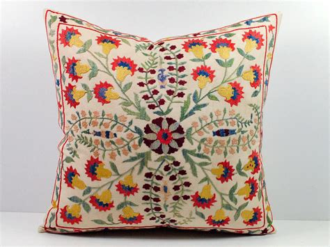 Embroidered Pillows beautiful embroidered pillows is a way