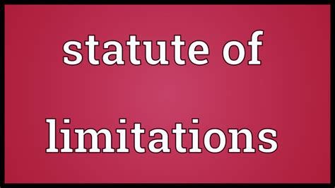 Statute Of Limitations On Mesothelioma Claims by Mesothelioma Statute Of Limitations Lawyers Attorneys