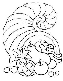 coloring page thanksgiving coloring pages