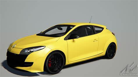 renault yellow renault megane renault sport 250 renault car detail