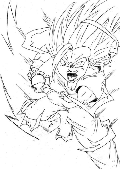 young goku coloring pages 7 best places to visit images on pinterest