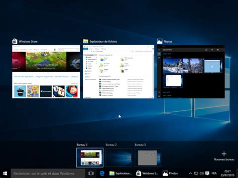 windows bureau virtuel windows 10 les nouveaut 233 s en images cnet