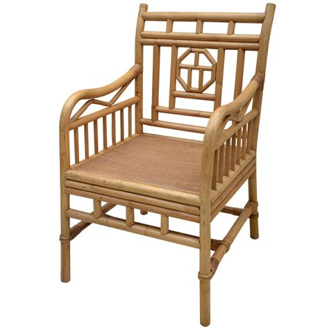 chinese armchair large chinese style rattan armchair w grasscloth seat at