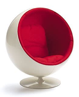 miniature aarnio ball chair  vitra design novacom
