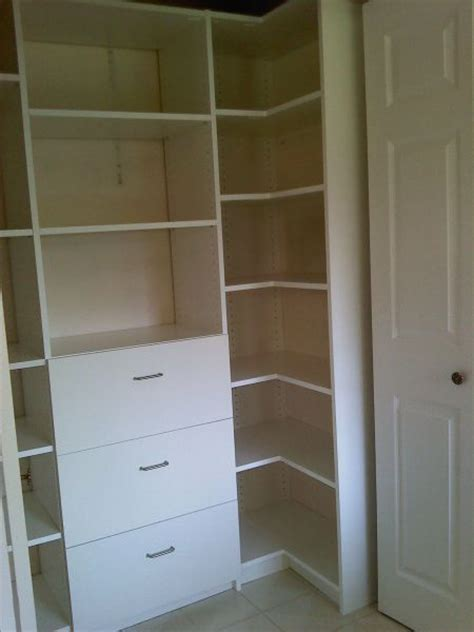 Corner Closet System by 71 Best Closet Corner Images On