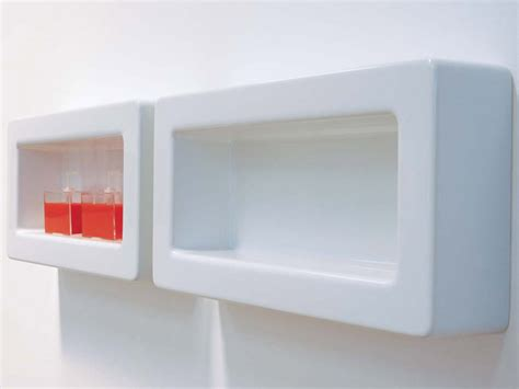 ceramic shelf bathroom frame ceramic wall shelf by ceramica flaminia design