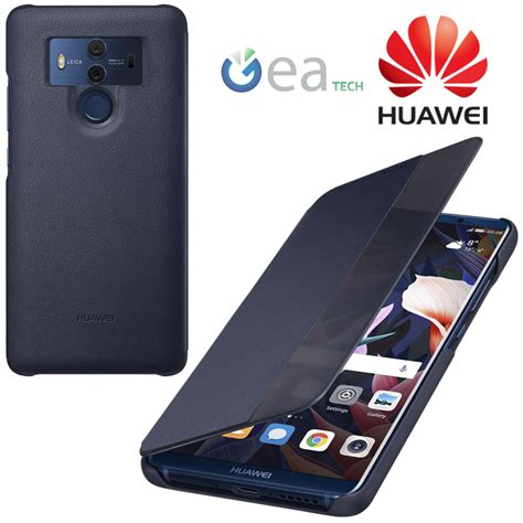 Pro 12 9 Flip Cover Smart Original 100 original huawei for mate 10 pro smart view cover flip