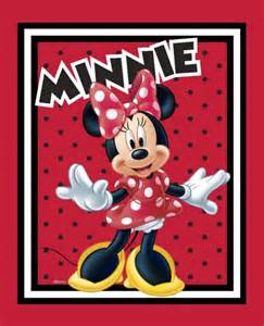 Minnie Mouse Quilt Panel New Minnie Mouse To Shop Quilt Top Wall Hanging