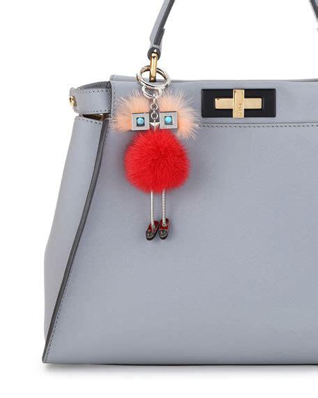 Fendi Handbag Charm by Fendi Mink Fur Bag Charm