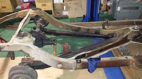 projects 1955 buick truck arm suspension help and advice