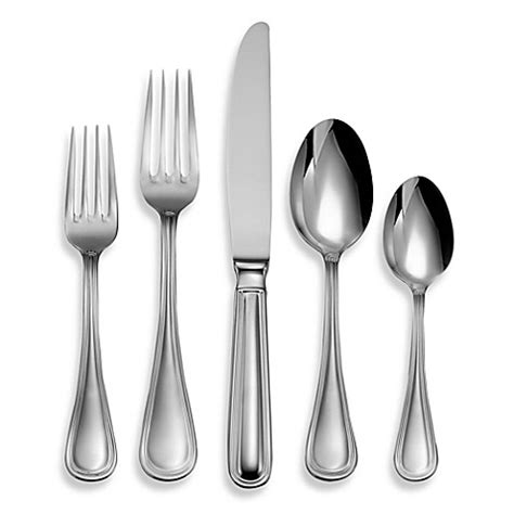 bed bath and beyond flatware oneida 174 62 piece flatware set in omnia bed bath beyond