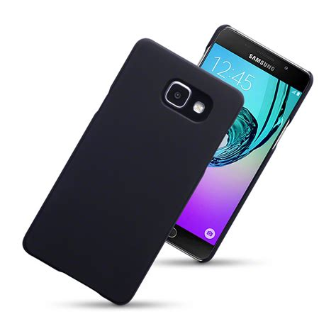 Softcase Balck Matte Samsung Galaxy A5 2016 slim armour back cover for samsung galaxy a5