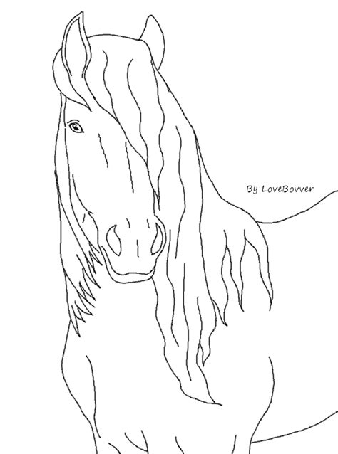 coloring pages of friesian horses friesian horse coloring pages