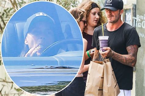 Reunited Posh By Davids Side As He Spends Another Day With Sick david beckham and reunited in vegas posh