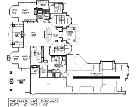 Luxury Bungalow House Plans by Luxury Bungalow Floor Plans Studio Design Gallery