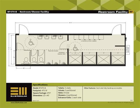 Floor Plans For Commercial Modular Buildings Restroom Buildings | 11 best images about bath kitchen building on pinterest