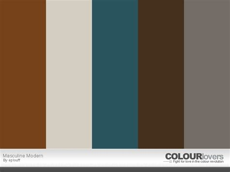 masculine colors masculine modern paint color schemes pinterest