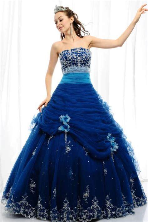 Blue Wedding Dress by Blue Wedding Dresses Dressed Up
