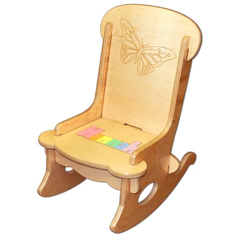 butterfly rocker chair child s puzzle rocking chair butterfly damhorst toys