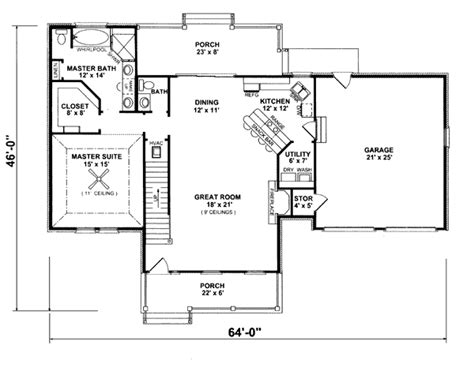 new england floor plans jeffrey place new england home plan 069d 0016 house