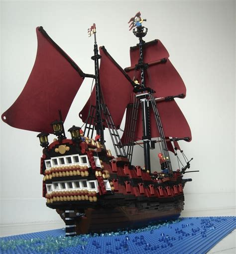 lego pirate boat pirate ship lucretia pirate mocs eurobricks forums