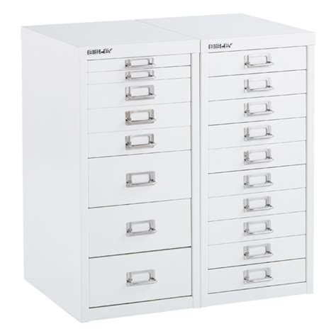 shallow drawer storage cabinet bisley white 8 10 drawer collection cabinets the