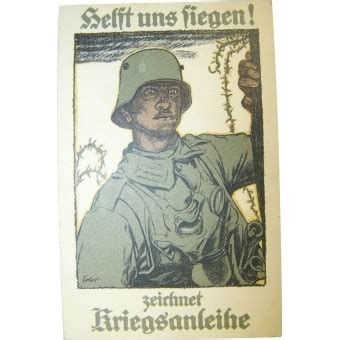 ww1 period made german propaganda postcard posters