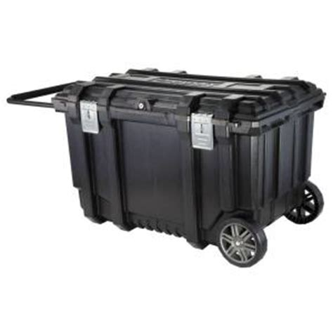 contico xl utility cabinet husky 37 in mobile box utility cart black 209261