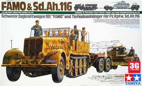 Tamiya Model german quot famo quot tank transport tamiya 35246 plastic