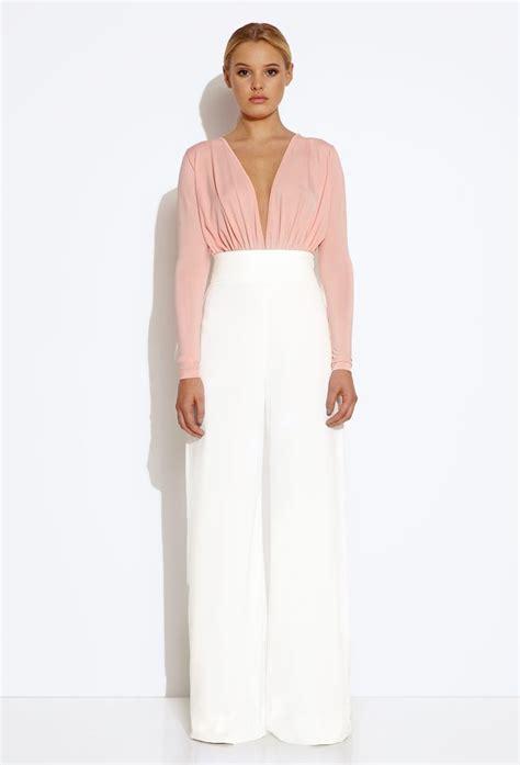Fiory Jumsuit paper pink jumpsuit rouxa