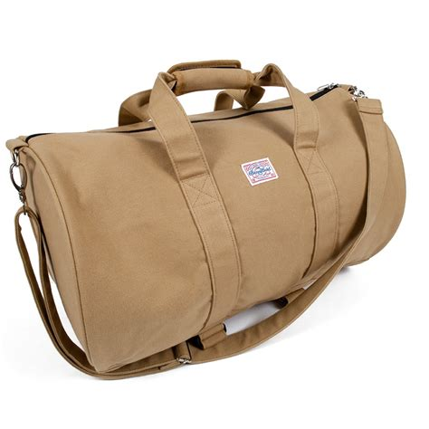 large canvas duffle bag benny gold
