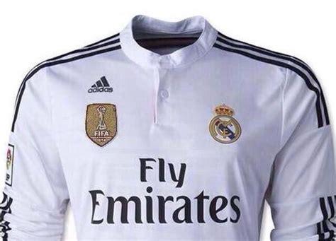 imagenes real madrid ceon mundial de clubes nueva camiseta del real madrid lucir 225 insignia del mundial