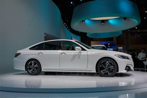 toyota crown toyota crown concept hails arrival of 2018 production
