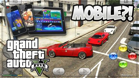 gta mobile gta 5 mobile beta v gameplay rumors gta 5