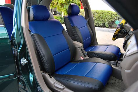 Honda Civic Seat Covers by Honda Civic 1997 2002 Iggee S Leather Custom Fit Seat