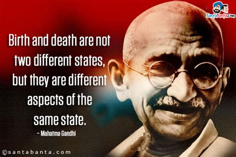 biography of mahatma gandhi from birth to death quotes
