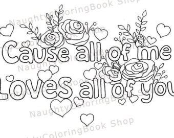 Naughty Adult Quotes Coloring Pages Coloring Pages I You Coloring Pages For Boyfriend