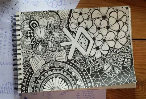 doodle exo doodle drawing pattern exo kpop mydoodles