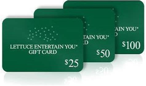 Lettuce Entertainment Gift Card - 12 5 off dining at all lettuce entertain you restaurants