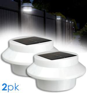 solar powered lights as seen on tv outdoor solar powered safety lights set of 2 pulsetv
