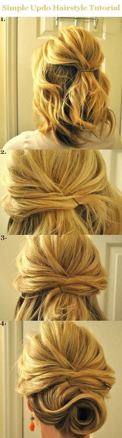 easy updo hairstyle tutorial for 10 hairstyle tutorials for your next gno