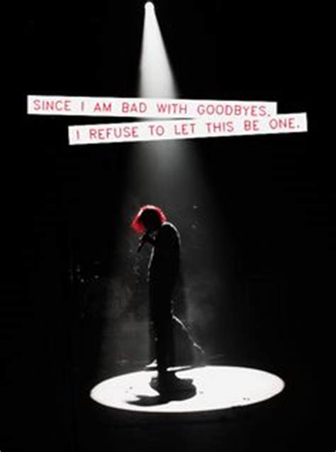 mcr up letter gerard my chemical on my chemical