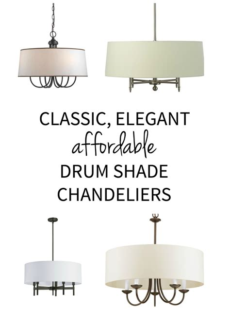 drum shade chandeliers drum shade chandelier sources the chronicles of home