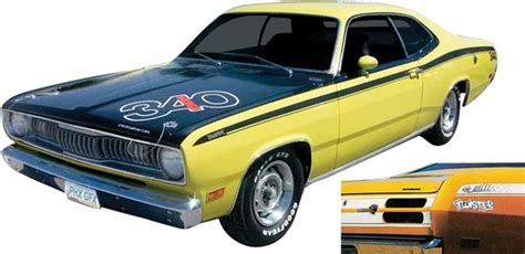 Auto Restoration Decals by Plymouth Duster Parts Emblems And Decals Restoration