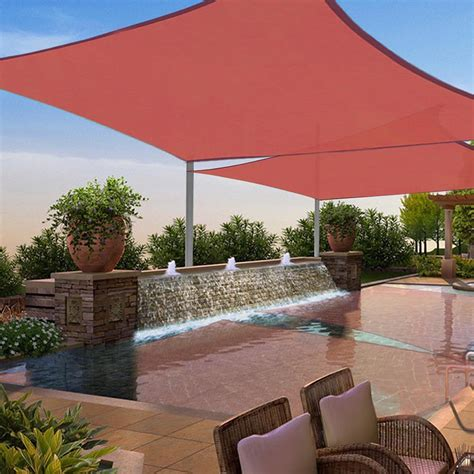 2 Pack Sun Shade Sail Patio Outdoor Canopy UV Block Top